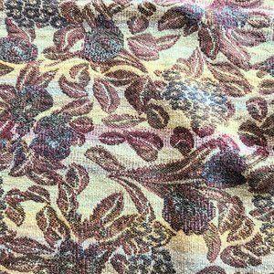 Vintage Cotton Woven Afghan Blanket Throw.